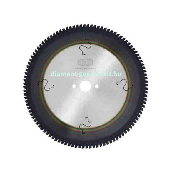 Stark körfűrészlap PVD nemvas anyagokhoz D350 B3,4 b2,6 d30/32 PH=2/11/63 Z84 trapéz egy. neg