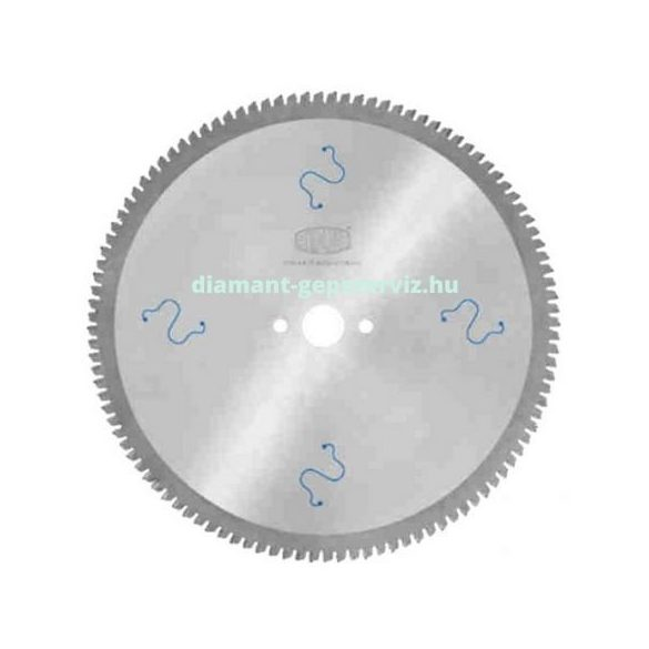 Stark körfűrészlap nem vas anyagokhoz D450 B4,0 b3,2 d30/32 PH=2/11/63 Z128 trapéz egyenes poz