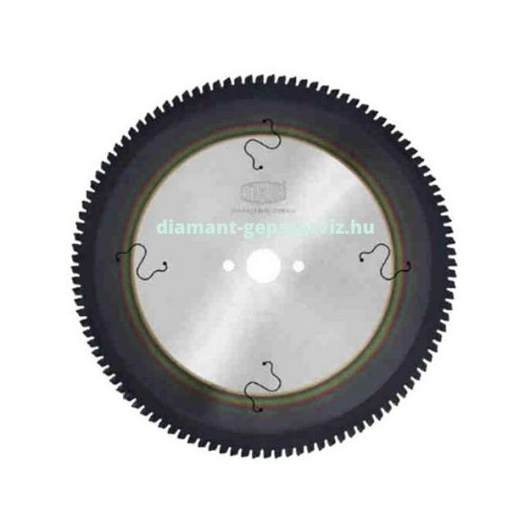Stark körfűrészlap PVD nemvas anyagokhoz D350 B3,4 b2,6 d30/32 PH=2/11/63 Z84 trapéz egy. poz