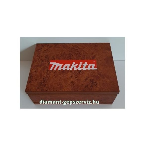 Makita 12 db-os felsőmaró készlet Ø8mm