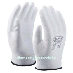 AKCIÓ Munkavédelmi precíziós kesztyű fehér S