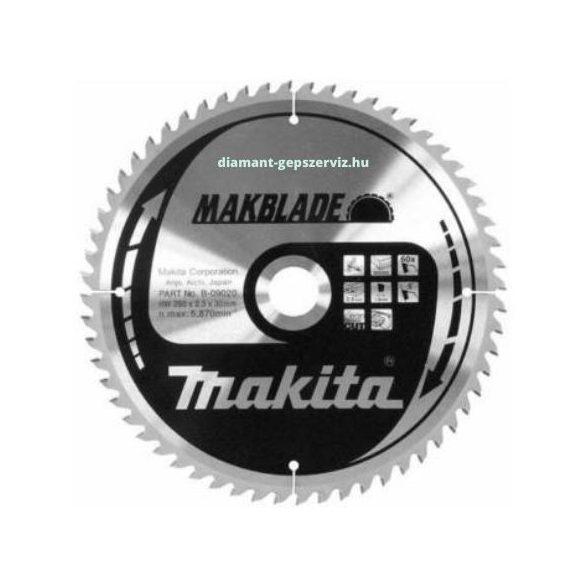 T221 MAKITA körfűrészlap Makblade 260x30mm Z60