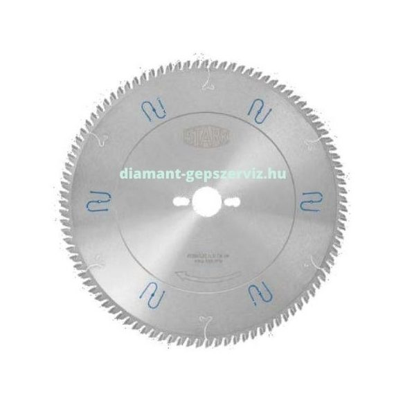 Stark körfűrészlap D300 B3,2 b2,2 d30 PH01 Z96 trapéz egyenes krómozott