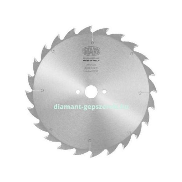 Stark sorozatvágó körfűrészlap D300 B3,2 b2,2 d30/35/70 Z22 t.max60 váltófogú