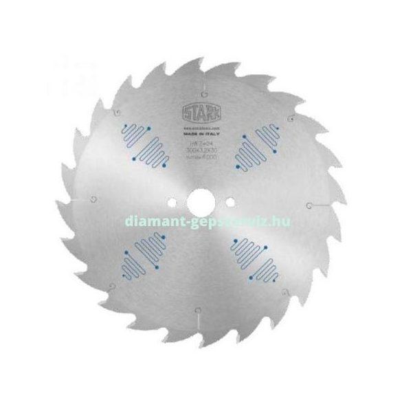 Stark körfűrészlap D350 B3,5 b2,5 d30 2/9/46,4+2/10/60 Z26 váltófogú krómozott