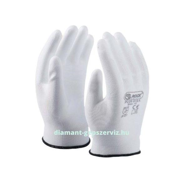 AKCIÓ Munkavédelmi precíziós kesztyű fehér XL/10