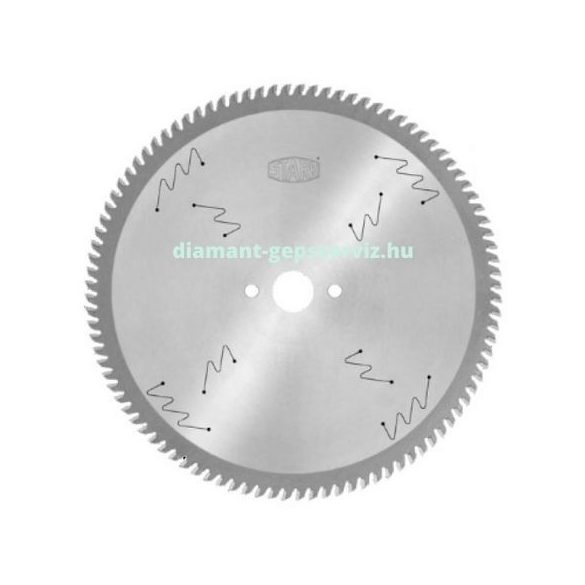 Stark körfűrészlap D350 B3,5 b2,5 d30 PH01 Z108 trapéz egyenes
