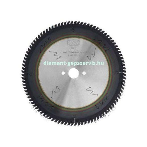 Stark körfűrészlap D300 B3,2 b2,2 d30 PH01 Z96 trapéz egyenes PVD