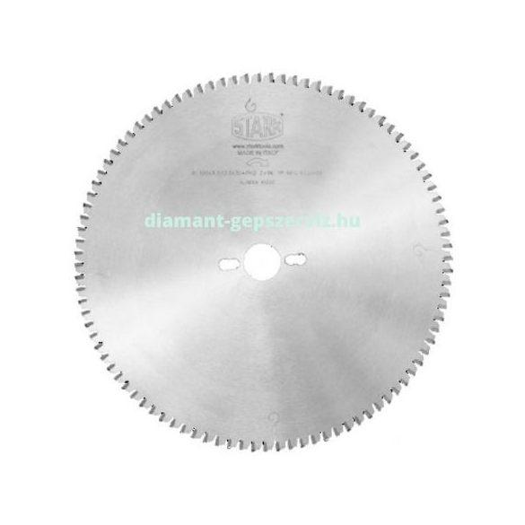 Stark körfűrészlap alumínium profilokhoz D216 B2,4 b1,6 d30 Z64 trapéz egyenes