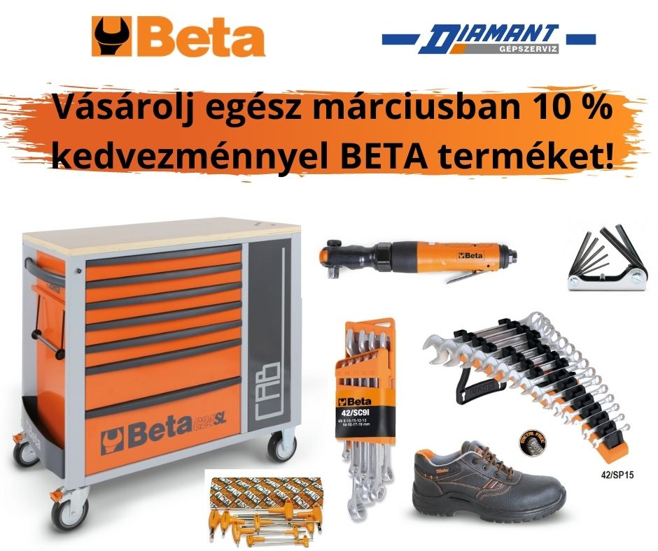 Újdonság!BETA termékek elérhetők üzletünkben!